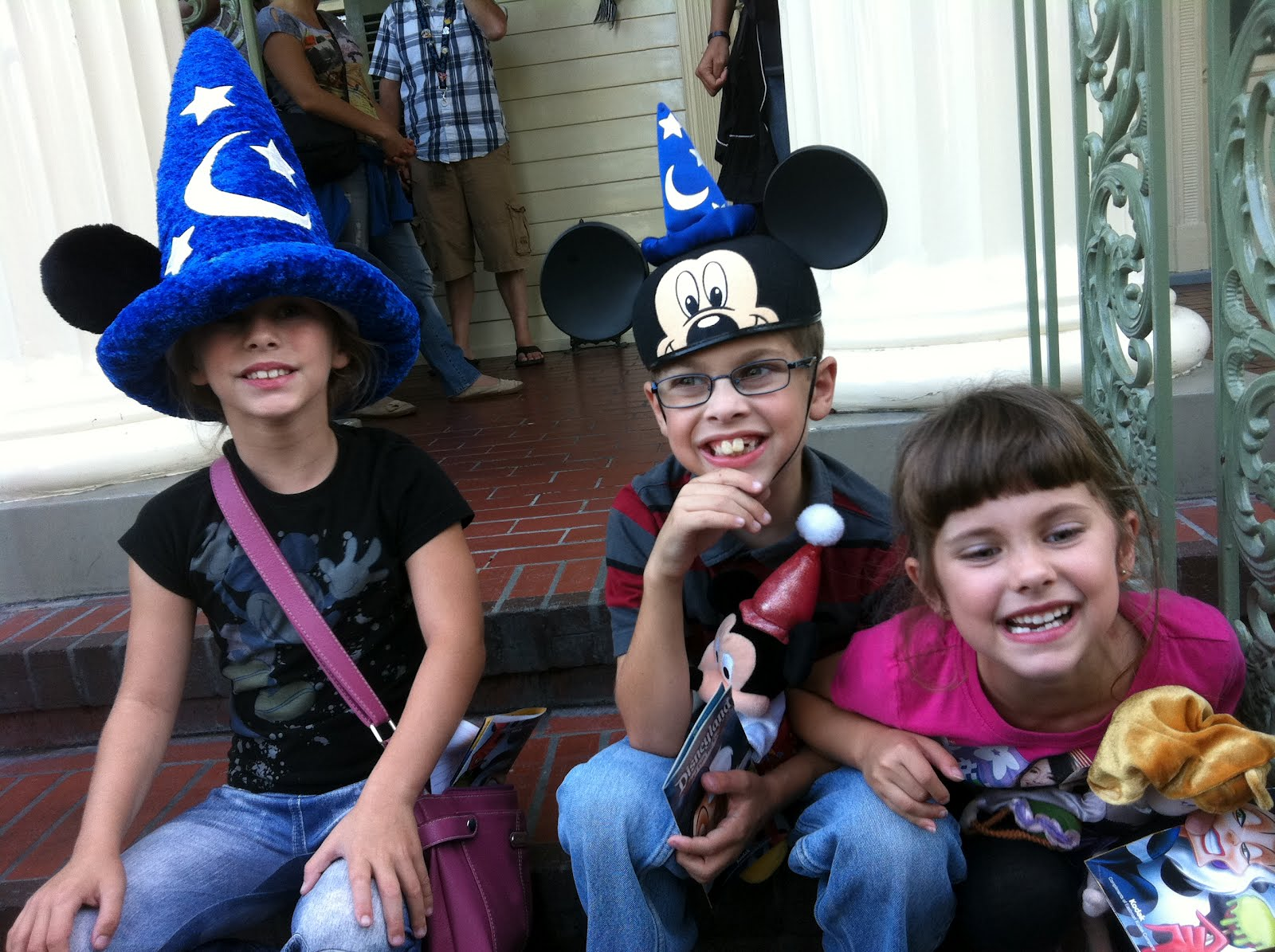 The Kids at Disneyland