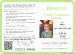 Alex DAS pass